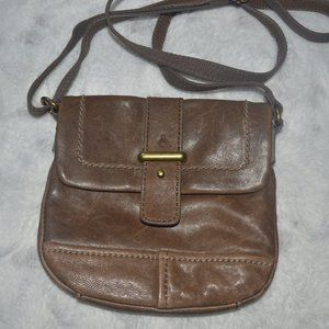 Fossil Small Flap CrossBody Brown